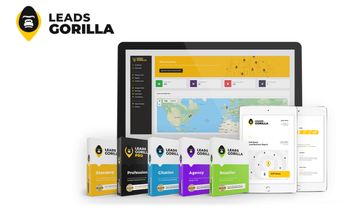 LeadsGorilla – Local Marketing Automation Software Lifetime Deals $37 Only