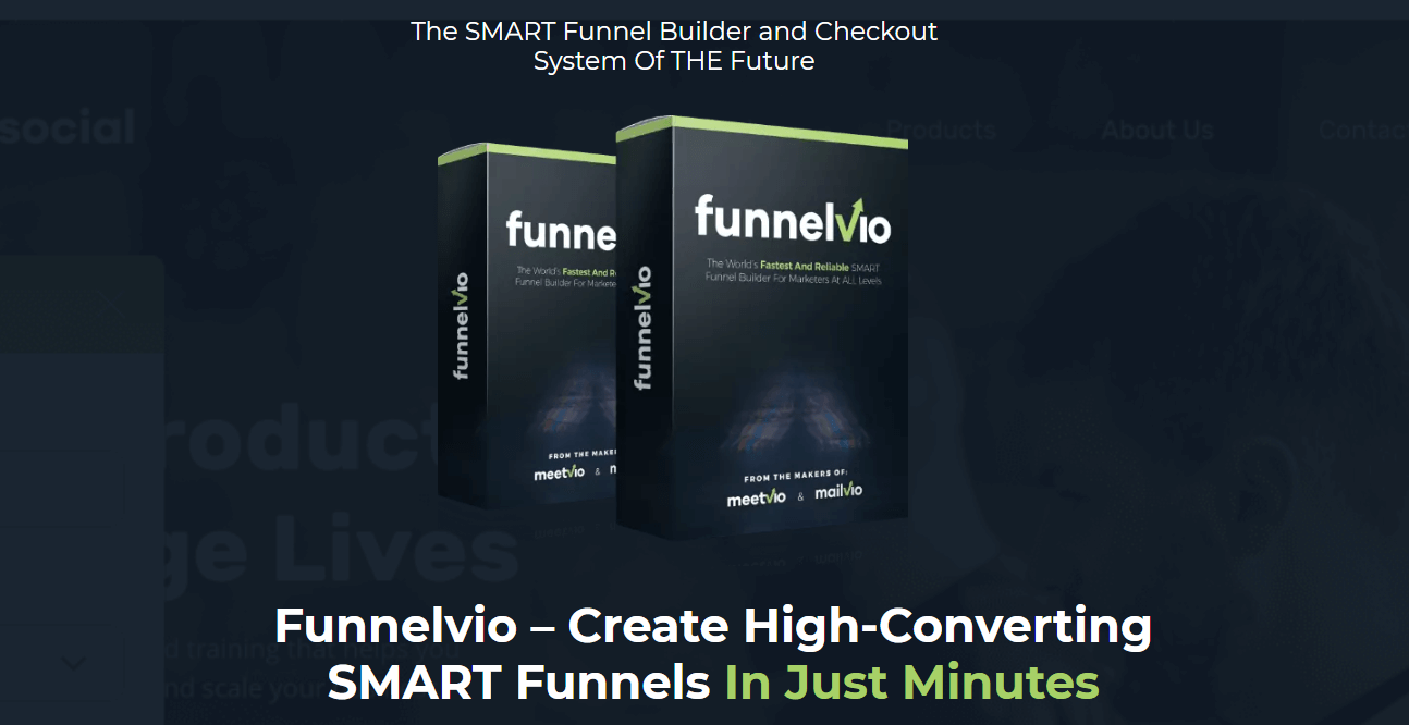 Funnelvio – Instant Funnel Builder Lifetime Software Deal at $87 Only