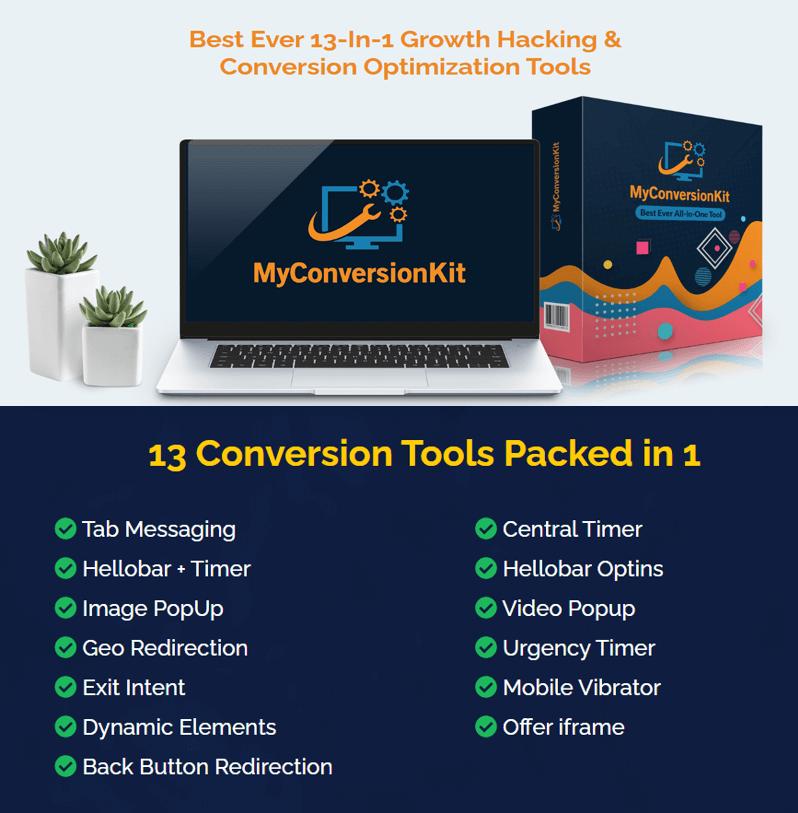MyConversionKit – 13 marketing conversion tools Lifetime Software Price